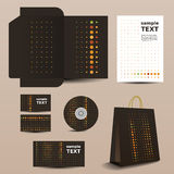 Stationery Template, Corporate Image Design Stock Photos