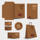 Stationery template design - business set Stock Photo