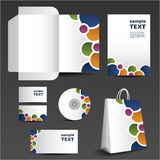 Stationery template design - business set Stock Photography