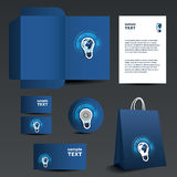 Stationery template design - business set Stock Image