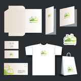 Stationery Template Design - Business Set Royalty Free Stock Photography