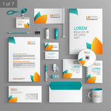 Stationery template design Stock Images