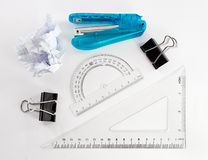 Stationery tools. stock photo