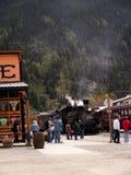 Stationieren Sie in Silverton eine alte silberne Bergbaustadt im Staat Colorado USA Lizenzfreies Stockbild