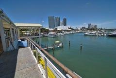 Stationnement à Miami, la Floride Image libre de droits