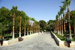 Stationnement à Nicosia - en Chypre Photos libres de droits