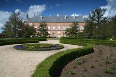 Stationnement à Royal Palace d'Aranjuez Images stock