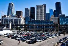 Stationnement ? Seattle, Washington, Etats-Unis images stock
