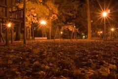 Stationnement 1 d'automne Image libre de droits