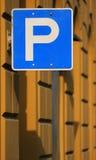 Stationnement Photos libres de droits
