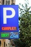 stationnement Photo libre de droits