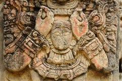 Stationnement archéologique dans des ruinas de Copan photographie stock libre de droits