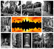Stationnement archéologique d'Angkor Photographie stock