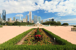 Stationnement Chicago de Grant Photographie stock libre de droits