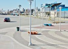 Stationnement coloré rénové par New York d'île de lapin Photos libres de droits