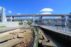Stationnement commémoratif de séisme photos stock