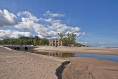 Stationnement d'état de dunes Pavillion Image stock