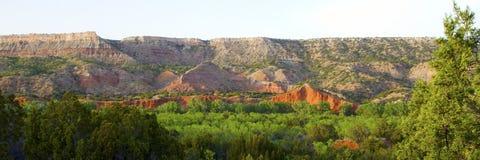 Stationnement d'état de gorge de Duro de Palo, le Texas Image stock