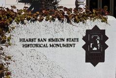 Stationnement d'état de Hearst San Simeon photos libres de droits