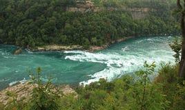 Stationnement d'état de Niagara Falls image libre de droits
