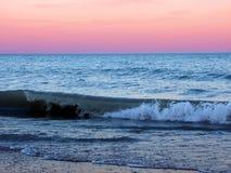 Stationnement d'état de plage de l'Illinois Images libres de droits