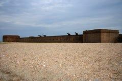 Stationnement d'état de repli de fort Images libres de droits