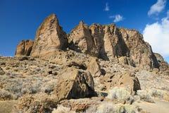 Stationnement d'état de roche de fort Images libres de droits