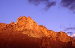 Stationnement d'état de roche de Smith Photo libre de droits