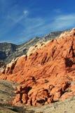 Stationnement d'état rouge de gorge de roche Photos libres de droits