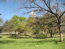Stationnement d'Austin, le Texas Photos libres de droits