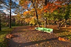 Stationnement d'automne Images libres de droits