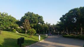 Stationnement d'Azhar Photo libre de droits