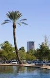 Stationnement d'Encanto, Phoenix, AZ Photo libre de droits