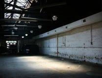 Stationnement d'entrepôt Photos libres de droits