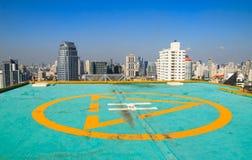 Stationnement d'hélicoptère Image stock