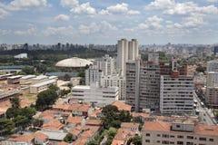 Stationnement d'Ibirapuera - Sao Paulo - Brésil photographie stock libre de droits