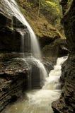 Stationnement d'état de gorge de Watkins, gorge de Watkins, NY2 Image stock