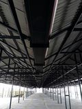 Stationnement de bâtiment au malioboro image stock
