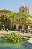Stationnement de balboa, San Diego, la Californie Image libre de droits