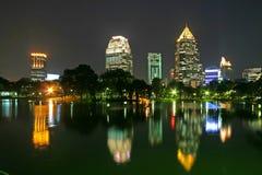 Stationnement de Bangkok Images libres de droits