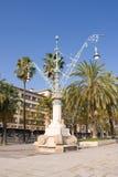 stationnement de Barcelone photographie stock