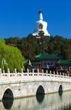 Stationnement de beihai de Pékin de porcelaine Image libre de droits