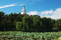 stationnement de beihei de Pékin Photos libres de droits
