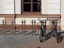 Stationnement de bicyclette Images libres de droits
