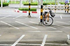 Stationnement de bicyclette Image libre de droits