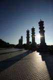 Stationnement de bouddhisme, zone culturelle nashan de tourisme de Sanya Photos libres de droits