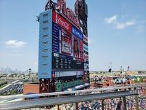 Stationnement de c?t? de citoyens - Philadelphie photo libre de droits
