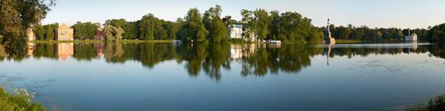 Stationnement de Catherine dans Tsarskoye Selo Photo libre de droits