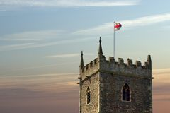 Stationnement de château, Bristol Images libres de droits