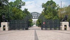 Stationnement de Chapultepec à Mexico Photo stock